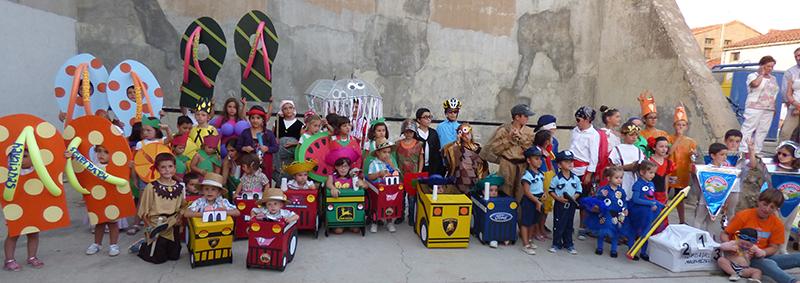 Concurso de Disfraces - Mecerreyes 2016