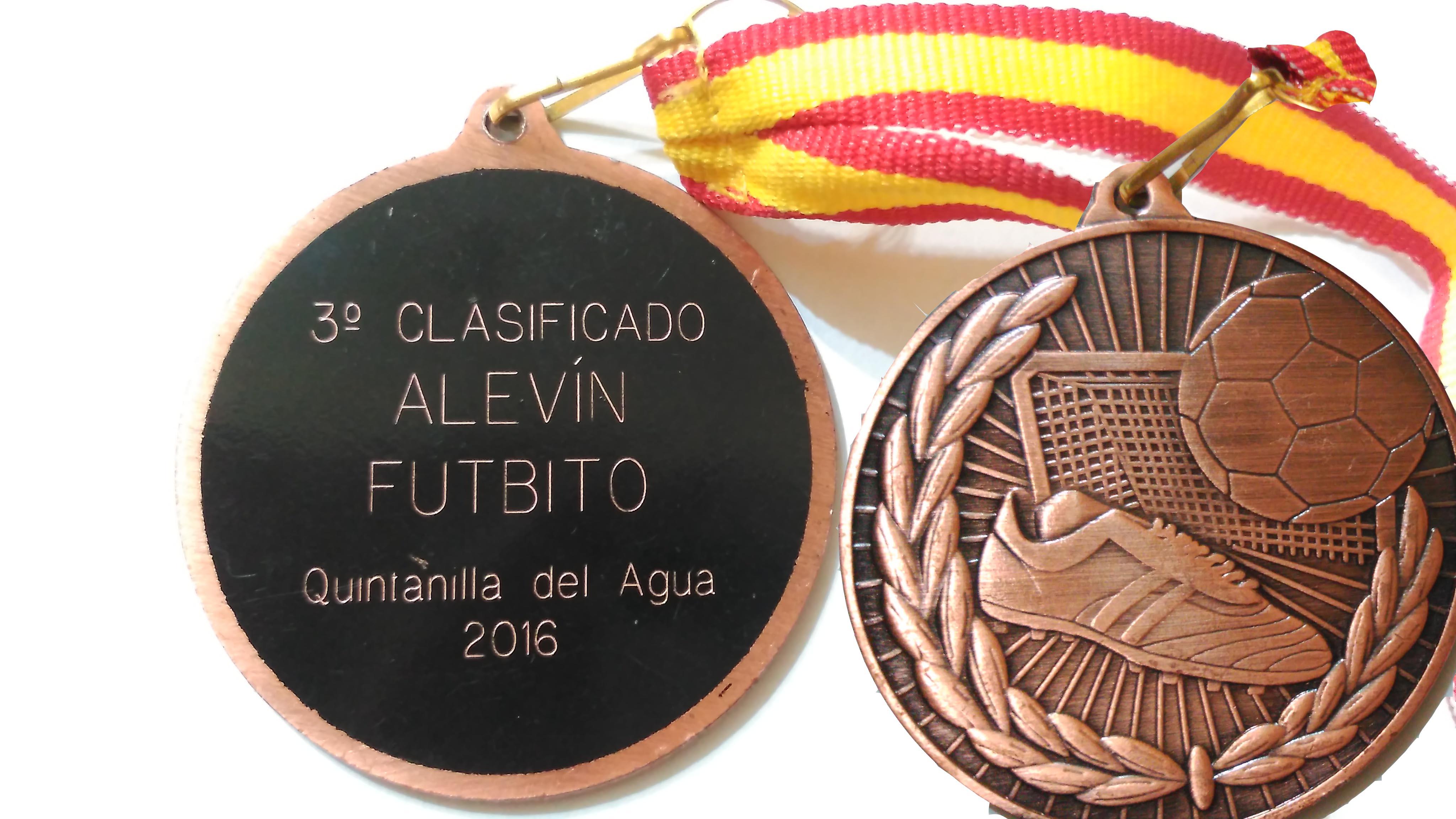 Mecerreyes medallas de futbito 2016 ganada en Quintanilla del Agua