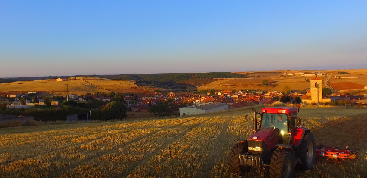Tractor, Mecerreyes octubre 2016