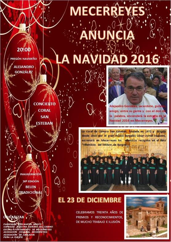 PRÓLOGO NAVIDAD, Mecerreyes 23-12-2016