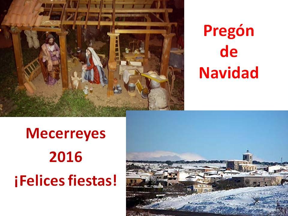Pregón de Navidad- Mecerreyes 2016, Diapositiva1