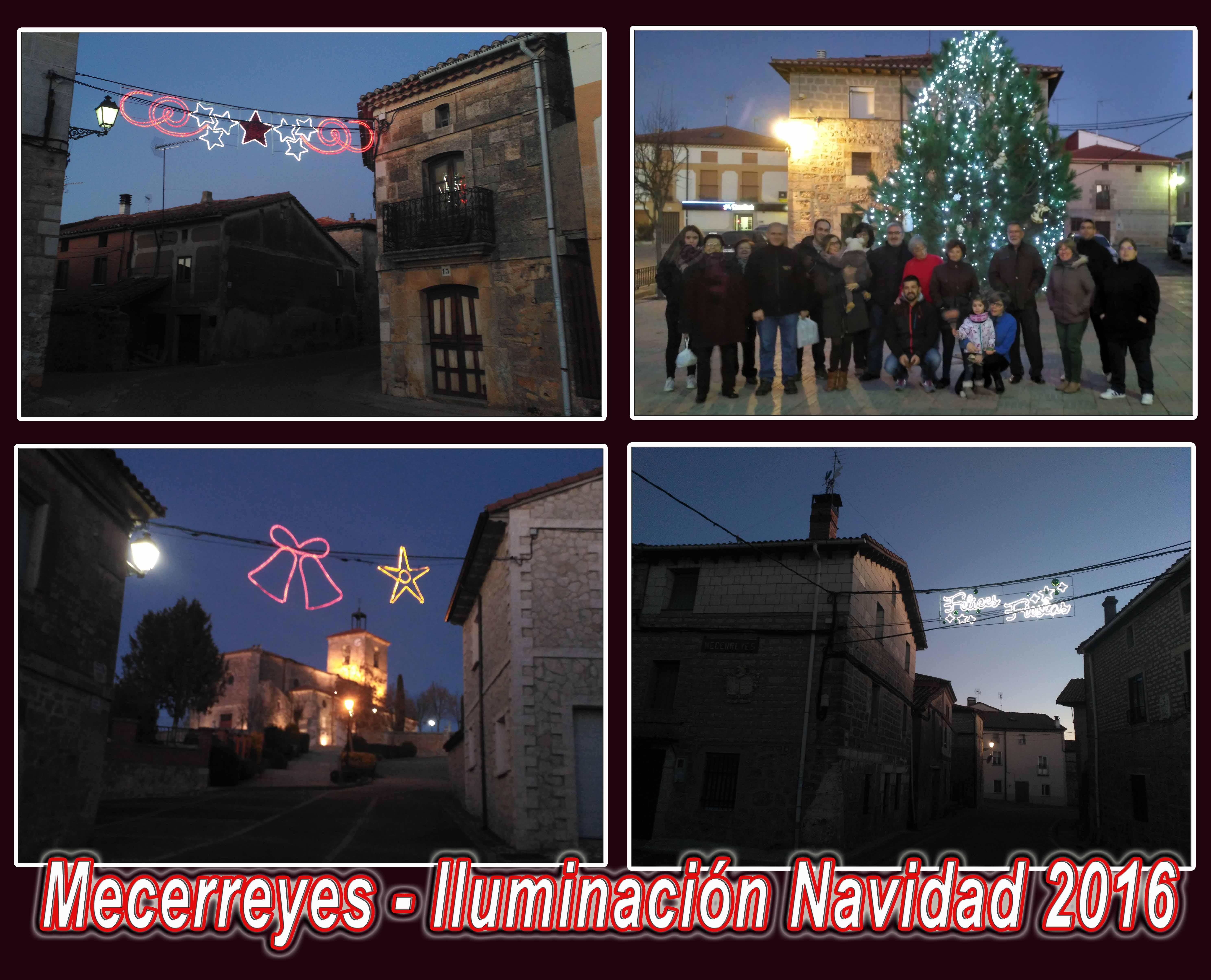Mecerreyes, iluminación navideña 2016