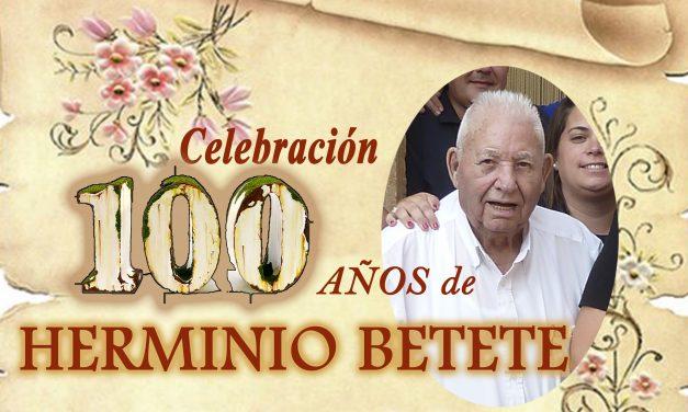 Herminio Betete. Un siglo de vida