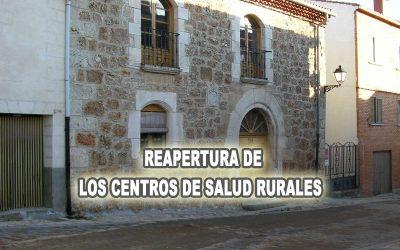 RECOGIDA DE FIRMAS PARA LA REAPERTURA DE LOS CENTROS DE SALUD RURALES